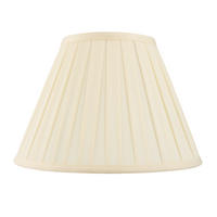 Endon Carla lampshade 18 inch Cream tc fabric 270mm H x 460mm D max.