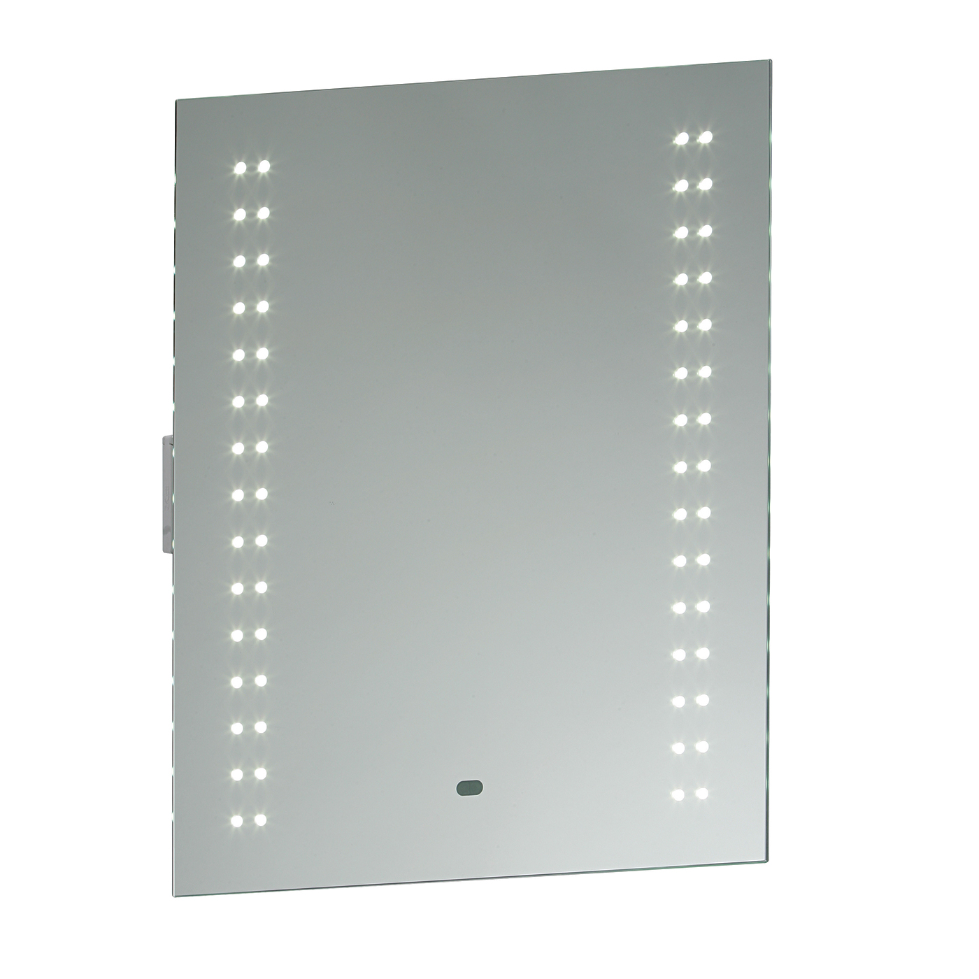 Endon Perle LED shaver bathroom mirror IP44 5W sensor H: 600mm W: 500mm Thumbnail 1