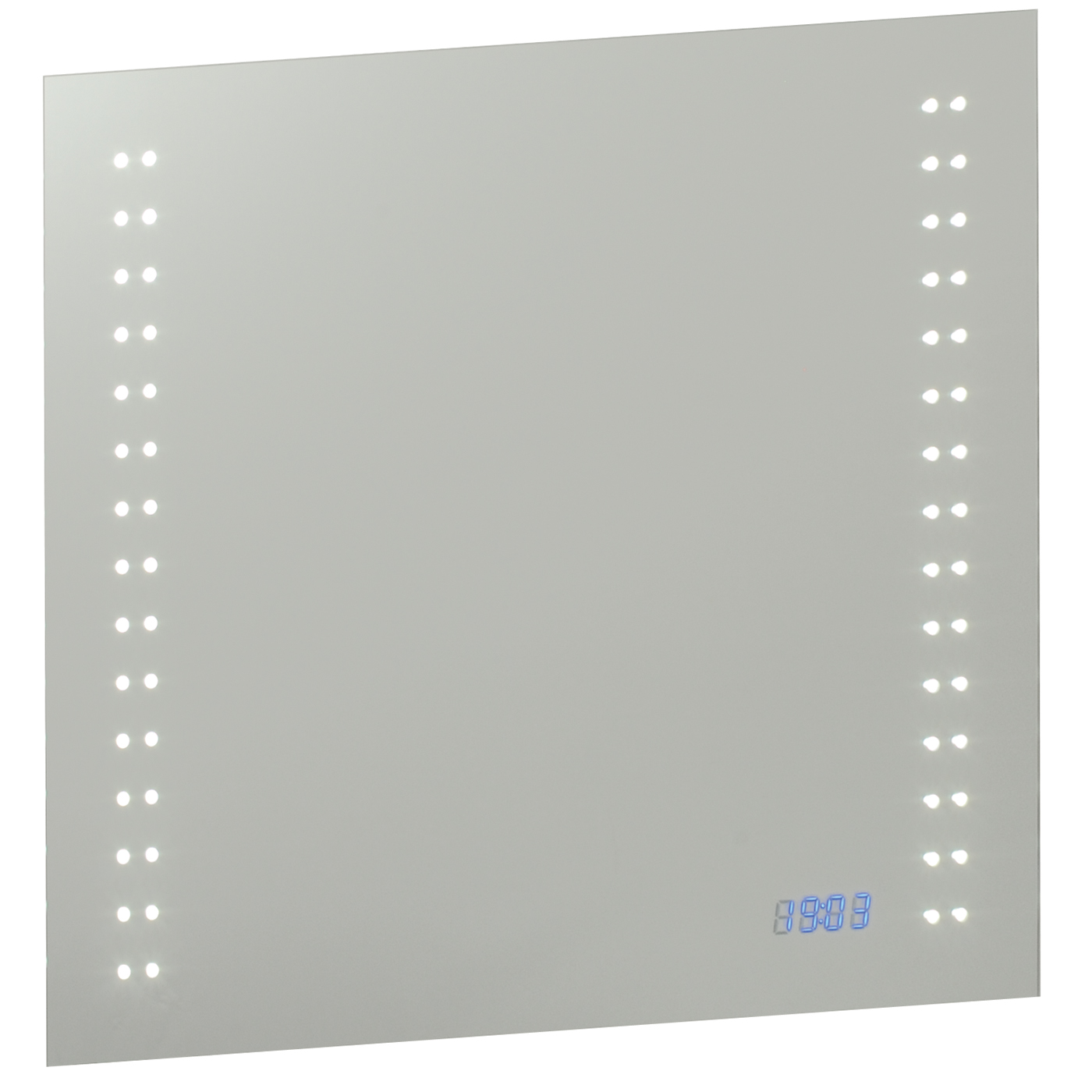 Endon Beta LED shaver bathroom mirror IP44 2W sensor H: 600mm W: 700mm Thumbnail 1
