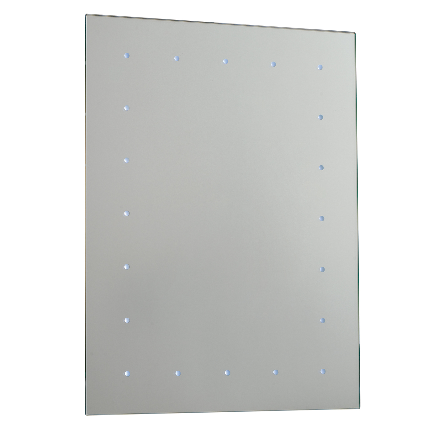Endon Toba battery operated LED bathroom mirror IP44 0.07W H: 600mm ...