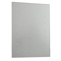 Endon Toba battery operated LED bathroom mirror IP44 0.07W H: 600mm W: 450mm