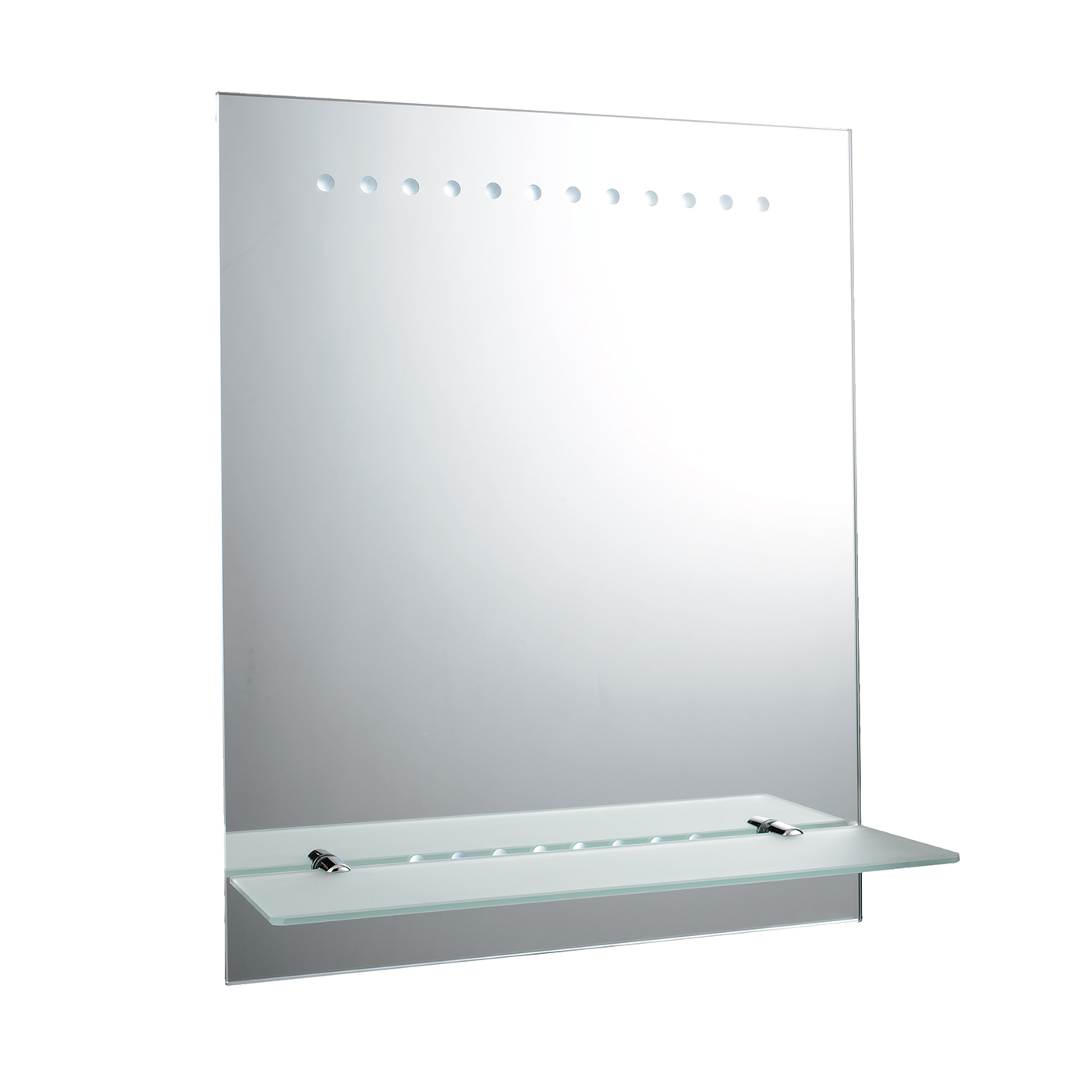 Endon Taro Battery Operated Led Bathroom Mirror Ip44 1 5w H 500mm W 400mm Liminaires