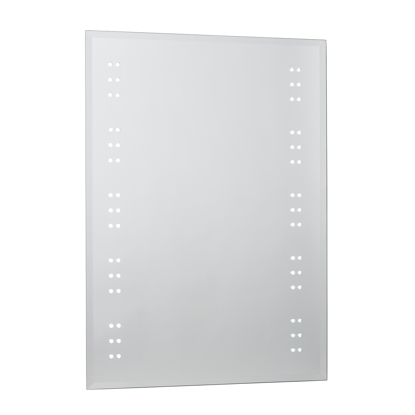 Endon Kastos LED bathroom mirror IP44 3W demister sensor H: 700mm W: 500mm Thumbnail 1