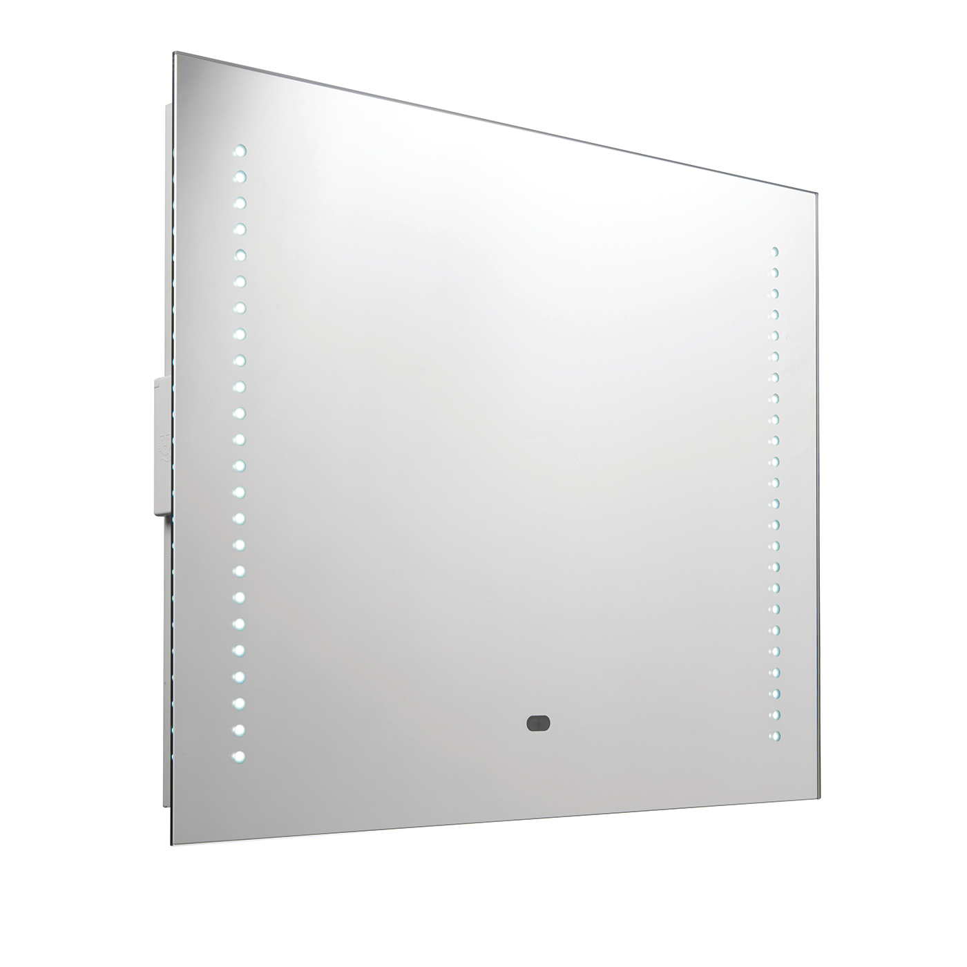 Rift RGB LED shaver bathroom mirror IP44 10W colour change H: 500mm W: 600mm Thumbnail 1