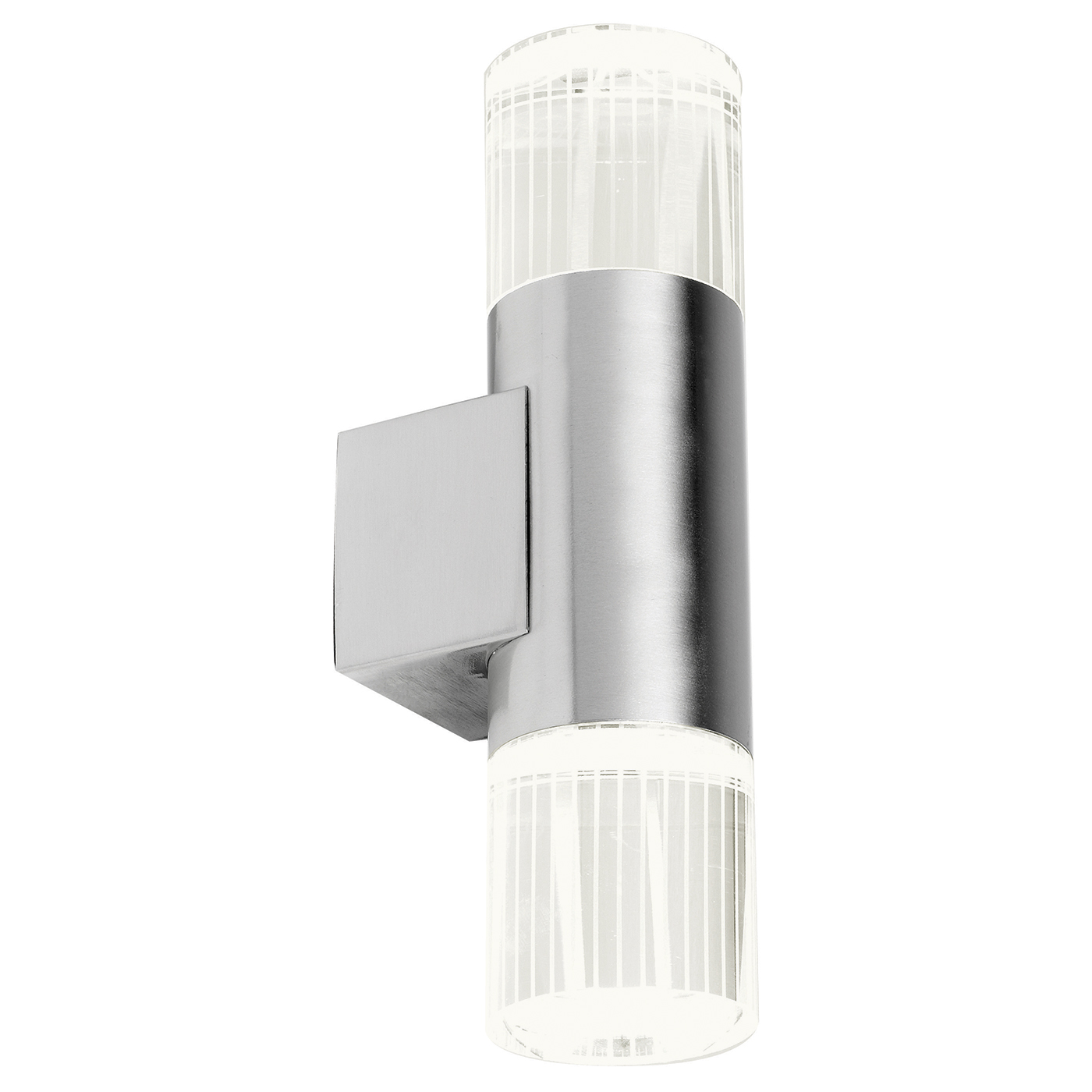 Endon Grant Up Down Outdoor Wall Light Ip44 1w Polished