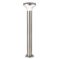 Endon Roko outdoor bollard IP44 3.5W Marine grade brushed stainless steel & pc
