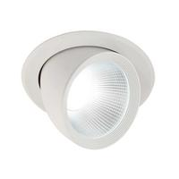Saxby Form Indoor Recessed Tilt Light 30W LED Module (COB) Daylight White