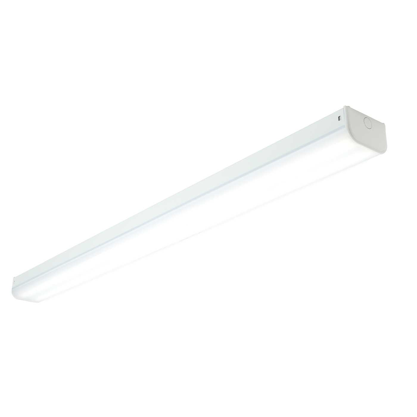 Saxby Linear Indoor Flush Batten Light Opal Pc 60W LED (SMD 2835) Cool White