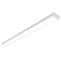 Saxby Linear Indoor Flush Batten Light Opal Pc 41W LED (SMD 2835) Cool White