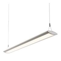 Saxby Kaba Indoor Pendant Ceiling Light Silver Anodised 29W SMD 2835 Cool White