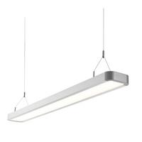 Saxby Samos Indoor Pendant Ceiling Light Silver Anodised 29W 2835 Cool White