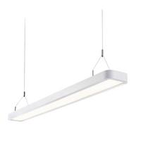 Saxby Samos Indoor Pendant Ceiling Light Matt White 29W SMD 2835 Cool White