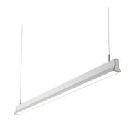 Saxby Prisim Indoor Pendant Ceiling Light Silver Anodised 14W 2835 Cool White