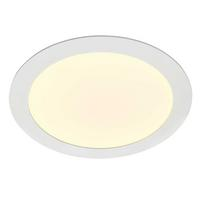 Saxby Helana Indoor Recessed Fixed Light Matt White 18W LED SMD 2835 Warm White