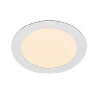 Saxby Helana Indoor Recessed Fixed Light Matt White 12W LED SMD 2835 Warm White