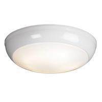 Saxby Vigor Indoor Flush Function Light 275 mm Round HF IP44 16W GR10q 2D 4 pin