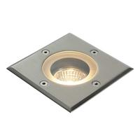 Saxby Pillar Outdoor Recessed Ground Light Square IP65 50W GU10 Reflector