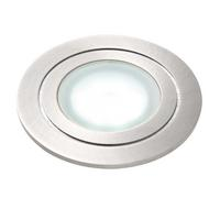 Saxby Hayz Outdoor Recessed Guide Light IP67 0.45W LED (SMD 3528) Daylight White