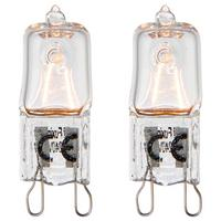 Saxby G9 eco halogen capsule light bulb dimmable twin pack 28W warm white 3000K