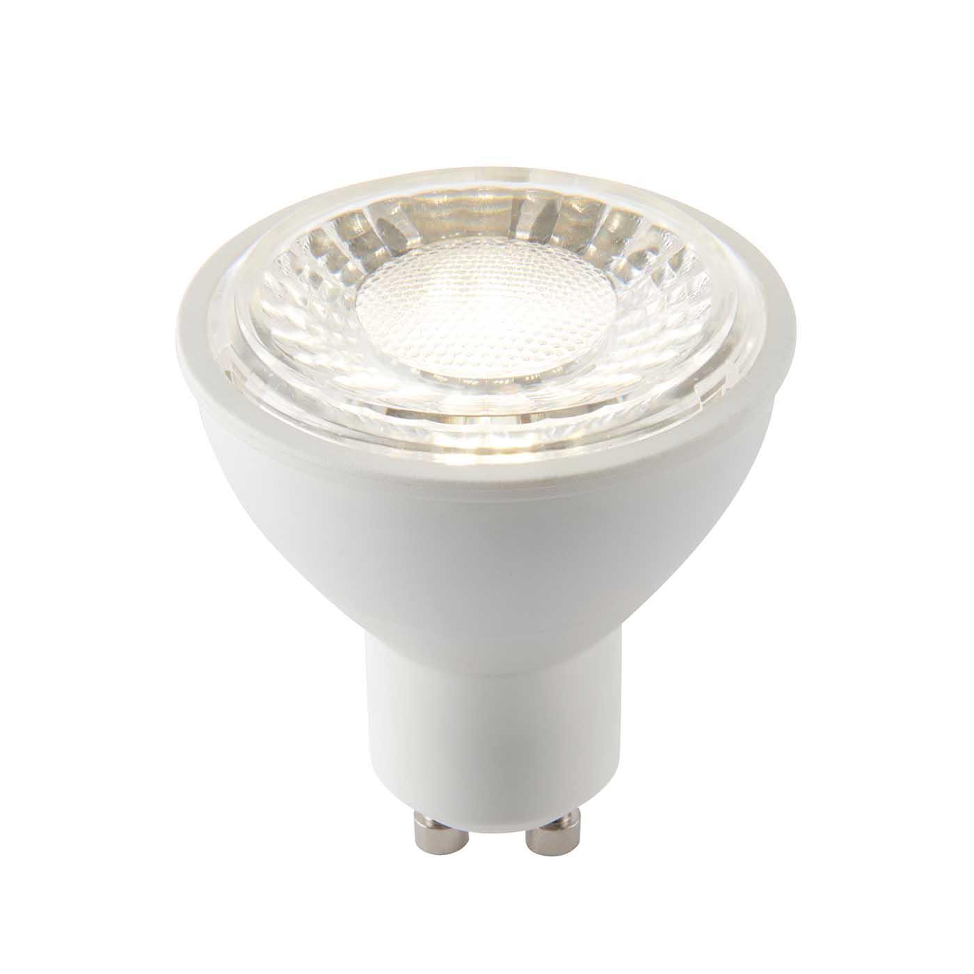Saxby Gu10 Led Light Bulb Smd 6w Cool White 4000k Liminaires