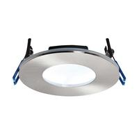 Saxby OrbitalPLUS Bathroom Recessed Fixed Light IP65 9W LED SMD 2835 Cool White