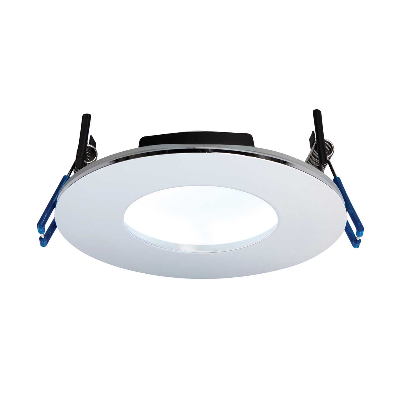 Saxby Orbitalplus Bathroom Recessed Fixed Light Ip65 9w