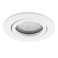 Eglo Tedo GU10-LED 3X5W Ceiling Downlight Cast Aluminium White IP20 220-240V