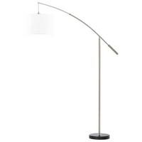Eglo Nadina E27 1X60W Floor Lamp Steel Satin Nickel IP20 220-240V 50/60Hz