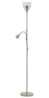 Eglo Spello 2 E27-Led-A60 GU10-LED 1X7W 1X3W Floor Lamp Steel Nickel 220-240V