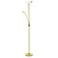 Eglo Baya LED 20W 2 5W 2 5W Floor Lamp Steel Brass IP20 220-240V 50/60Hz