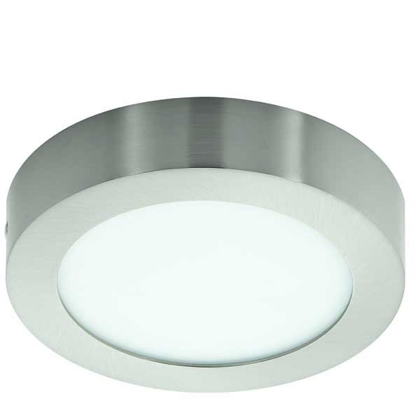 Eglo Fueva 1 LED 10 9W Ceiling Lamp Cast Metal Nickel IP20 220-240V Ø170