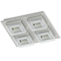 Eglo Fradelo LED 4X4W Ceiling Lamp Steel Chrome IP20 220-240V 50/60Hz