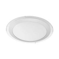 Eglo Competa 1 LED 22W Ceiling Lamp Steel White IP20 220-240V 50/60Hz Ø335