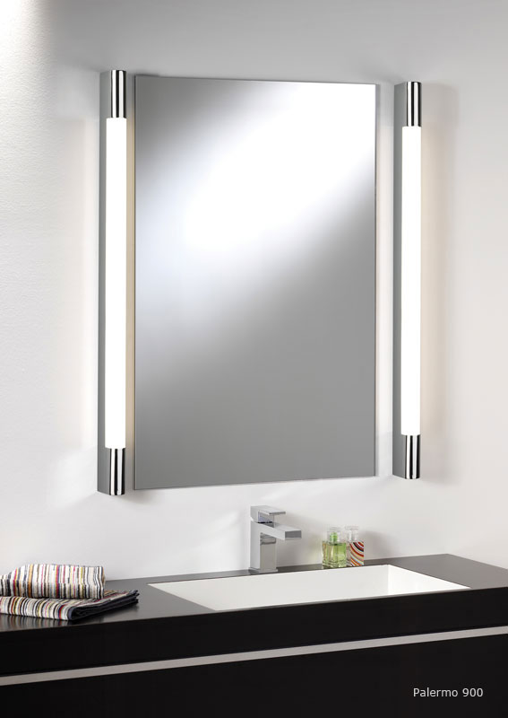 ASTRO PALERMO 900 0479 bathroom wall light 1 x 21W T5. IP44. Polish chrome Thumbnail 2