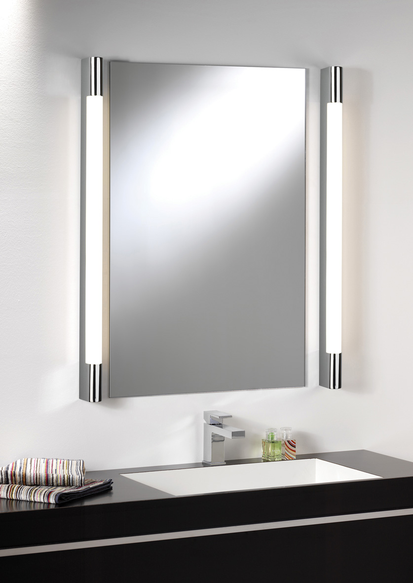 ASTRO PALERMO 1200 0627 Bathroom Wall Light 1 x 28W T5 IP44 Polished Chrome Thumbnail 2