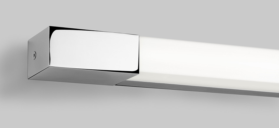 ASTRO ROMANO 900 0668 Bathroom Wall Light 1 x 21W T5 IP44 Polished Chrome Thumbnail 1
