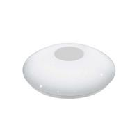 Eglo Voltago 2 LED 14W Wall Lamp Steel White IP20 220-240V Ø295 Wall Light