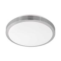 Eglo Competa 1 LED 22W Ceiling Lamp Steel White IP20 220-240V 50/60Hz Ø325