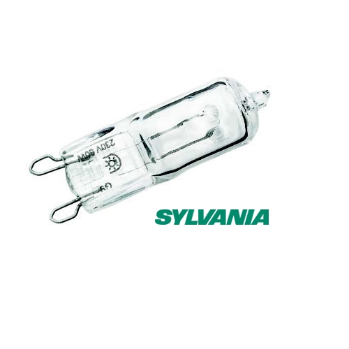 Sylvania branded ECO Hi-Pin 28W = 40W halogen bulb clear G9 Thumbnail 1