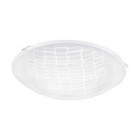 Eglo Malva 1 LED 11W Ceiling Lamp Steel White IP20 220-240V 50/60Hz Ø250