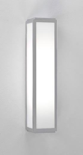 ASTRO MASHIKO 360 7043 Bathroom / Spa wall light 1 x 18W 2G11 Silver finish Thumbnail 1