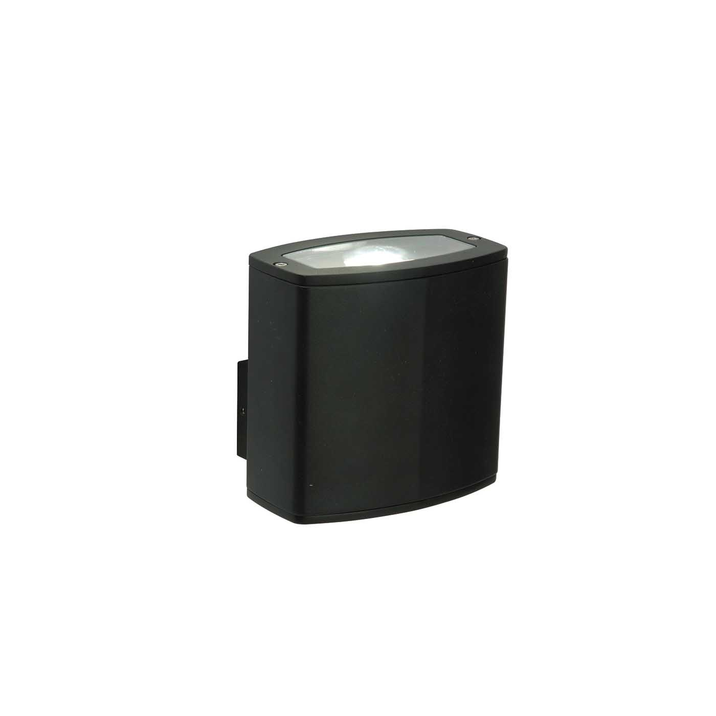 Saxby Rossi Outdoor Wall Light IP44 10W LED COB Cool White