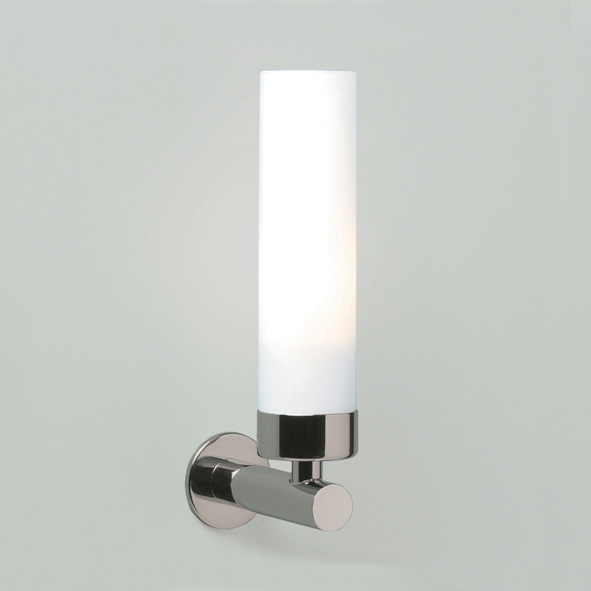 ASTRO Tube 0274 cylindrical wall light 1 x 40W E14 lamp IP44 polished chrome Thumbnail 1
