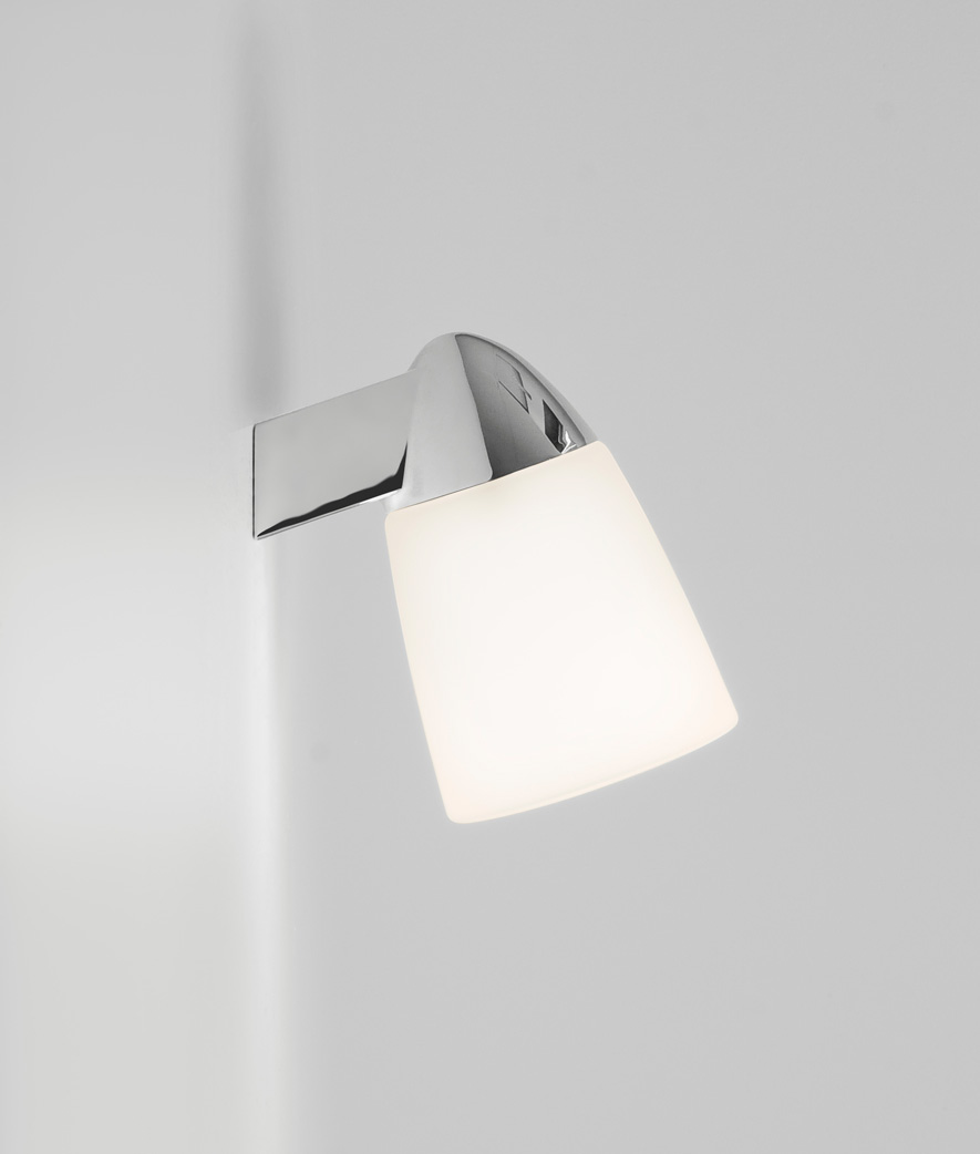 ASTRO Lincoln 0334 Bathroom wall light 1 x 40W E14 lamp IP44 polished chrome Thumbnail 2