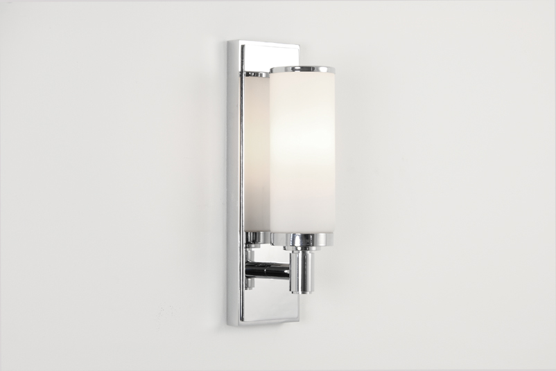 ASTRO Verona 0655 cylindrical bathroom wall light 1 x 40W E14 candle lamp IP44 Thumbnail 1