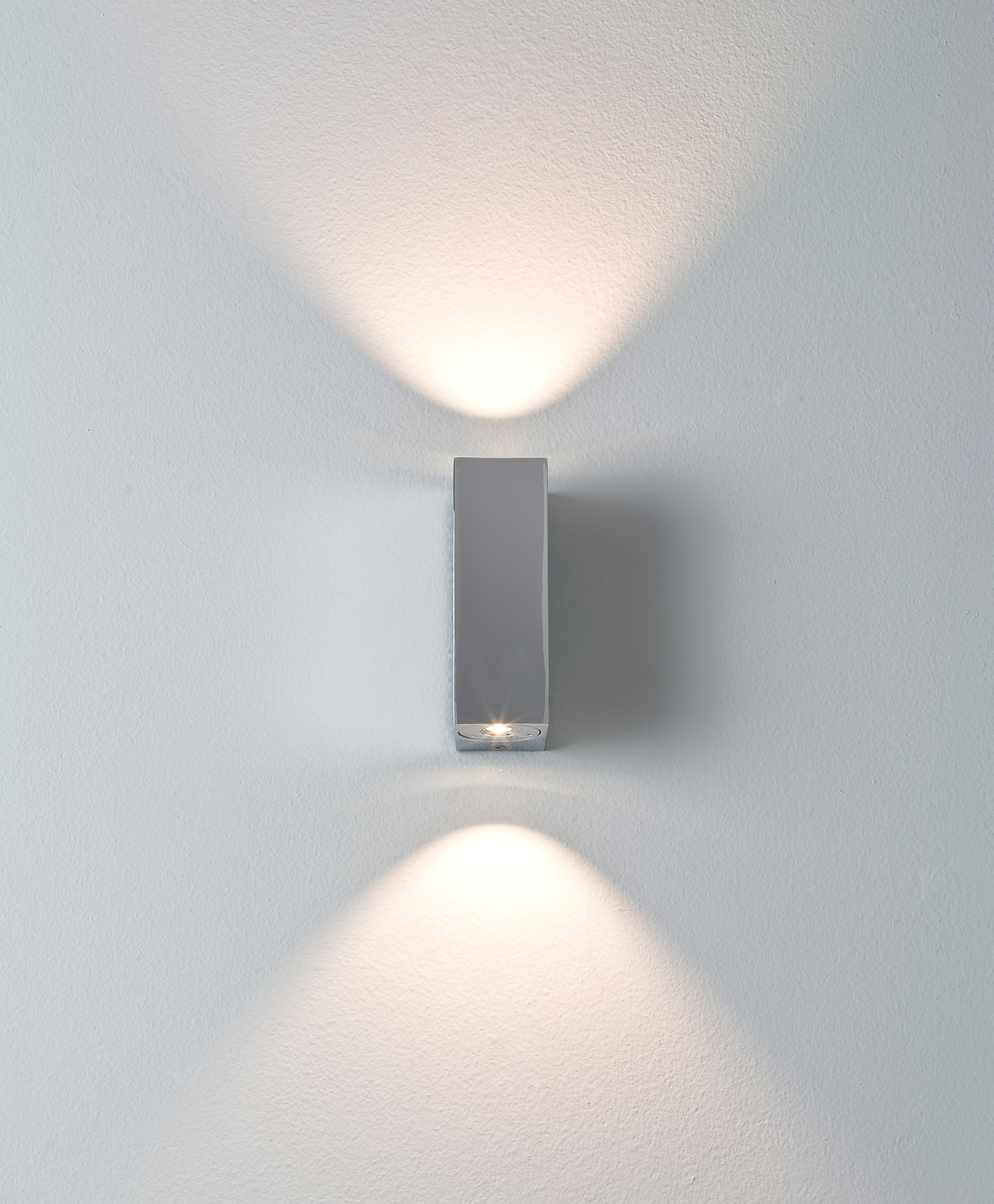 ASTRO Bloc 0829 bathroom LED up down wall light 2 X 1W 3000K warmwhite chrome Thumbnail 2