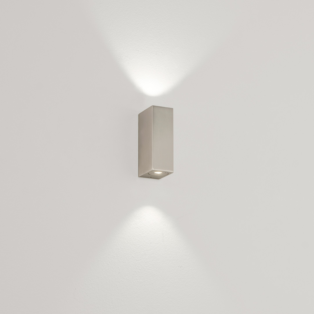 ASTRO Bloc 0824 bathroom LED wall light 2 X 1W 3000K warmwhite Luxeon nickel Thumbnail 2