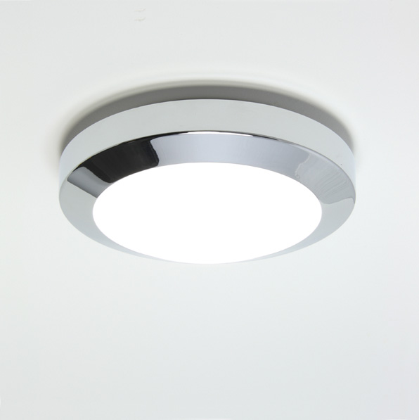 ASTRO Dakota 180 0843 small bathroom wall ceiling light 1 x 40W E14 chrome Thumbnail 1