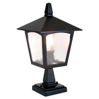 Elstead York Pedestal Lantern 1 x 100W E27 220-240v 50hz IP43 Class I