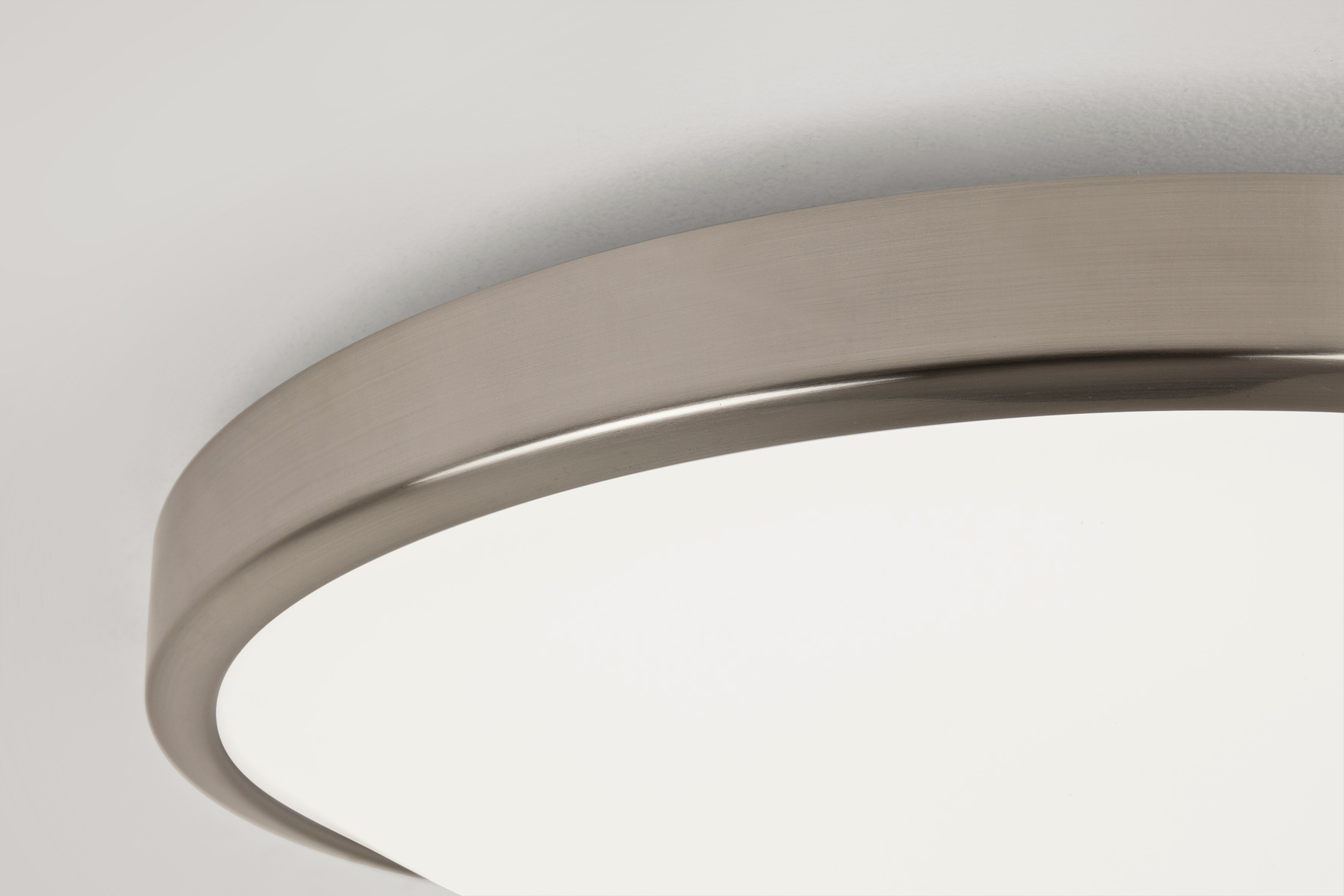 Astro Osaka 0906 round  bathroom low energy ceiling wall light 28W matt nickel Thumbnail 2